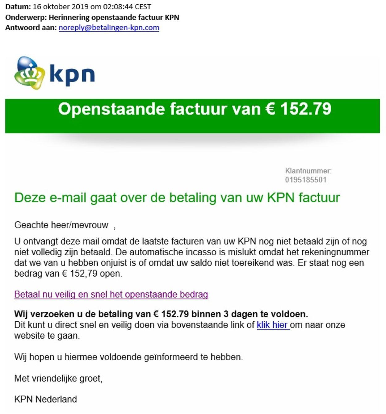phishing kpn 10-2019