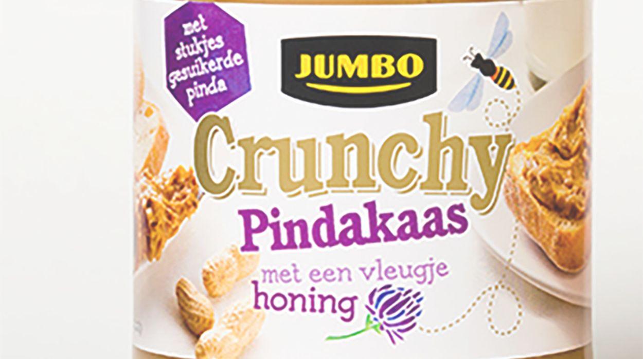 Afbeelding van Jumbo past 'honing' pindakaas aan na kritiek