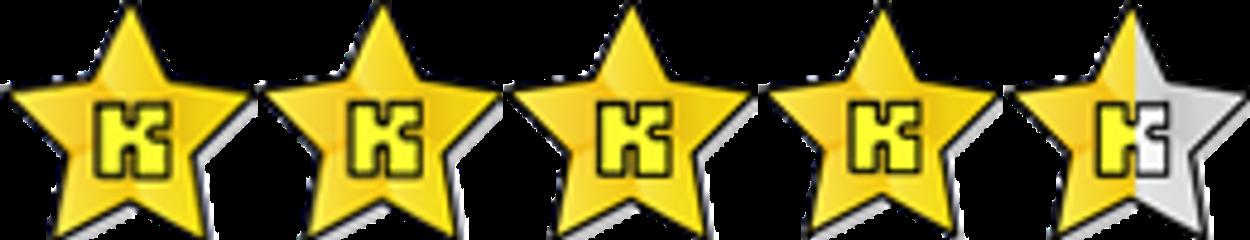 Review 4,5 ster sterren vierenhalve