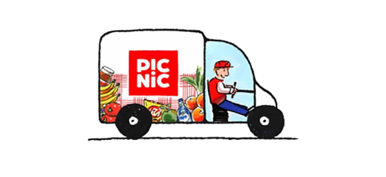 Afbeelding van Online supermarkt daagt AH en Jumbo uit
