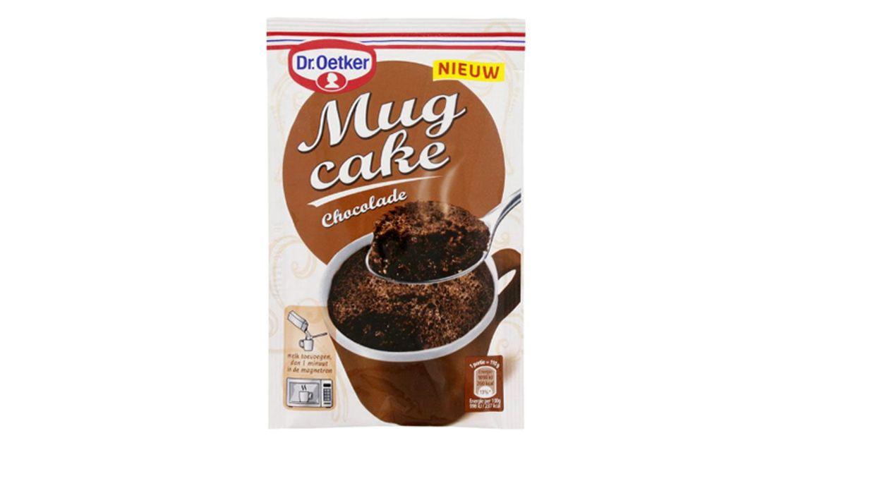 Afbeelding van Mogelijk salmonella in Dr. Oetker bakmix Mug Cake Chocolade