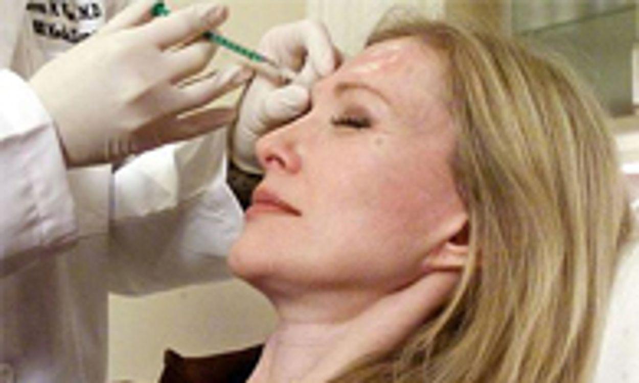 Afbeelding van Consumenten massaal aan botox en fillers