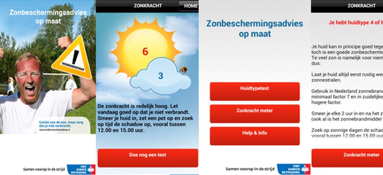 Afbeelding van Zonkracht-app adviseert: smeren!