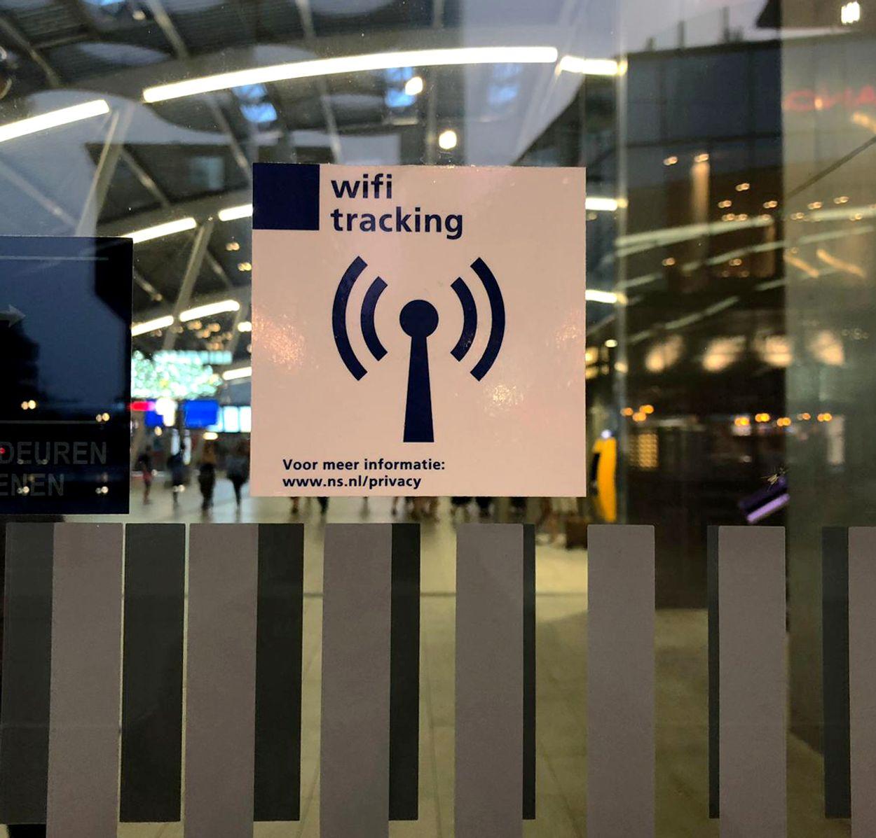 wifi-tracking Utrecht Centraal