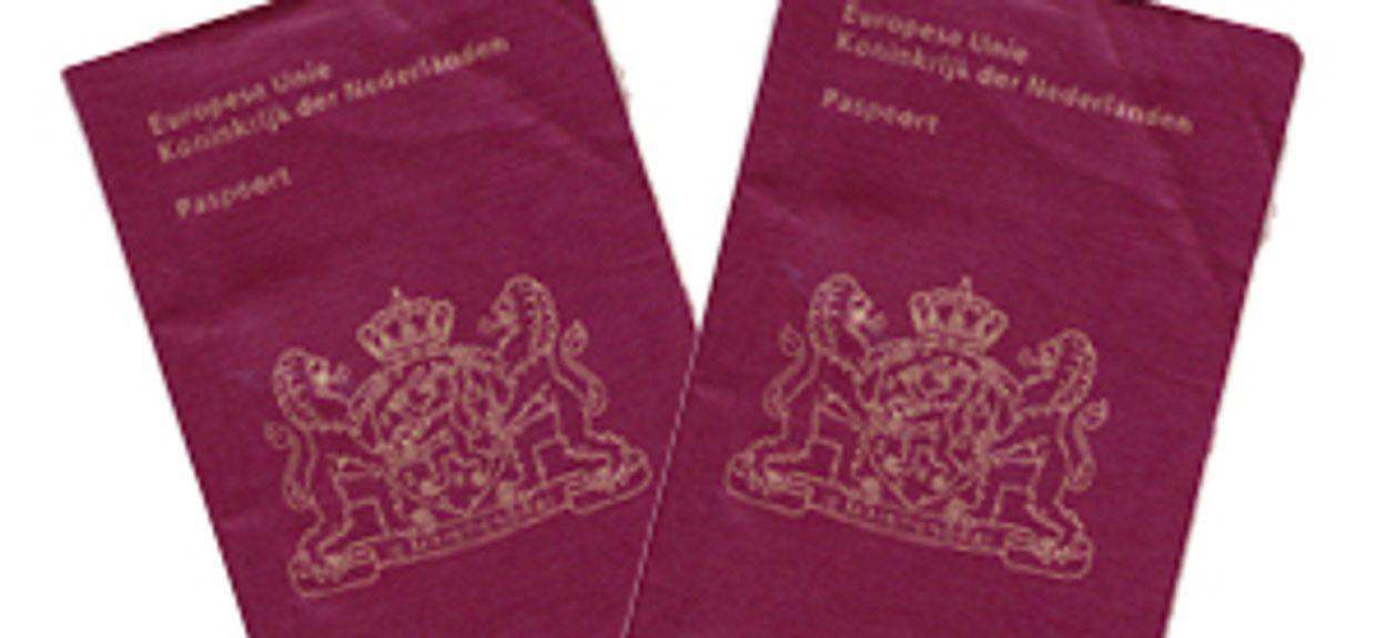 Afbeelding van Bewaren van kopie paspoort mag niet