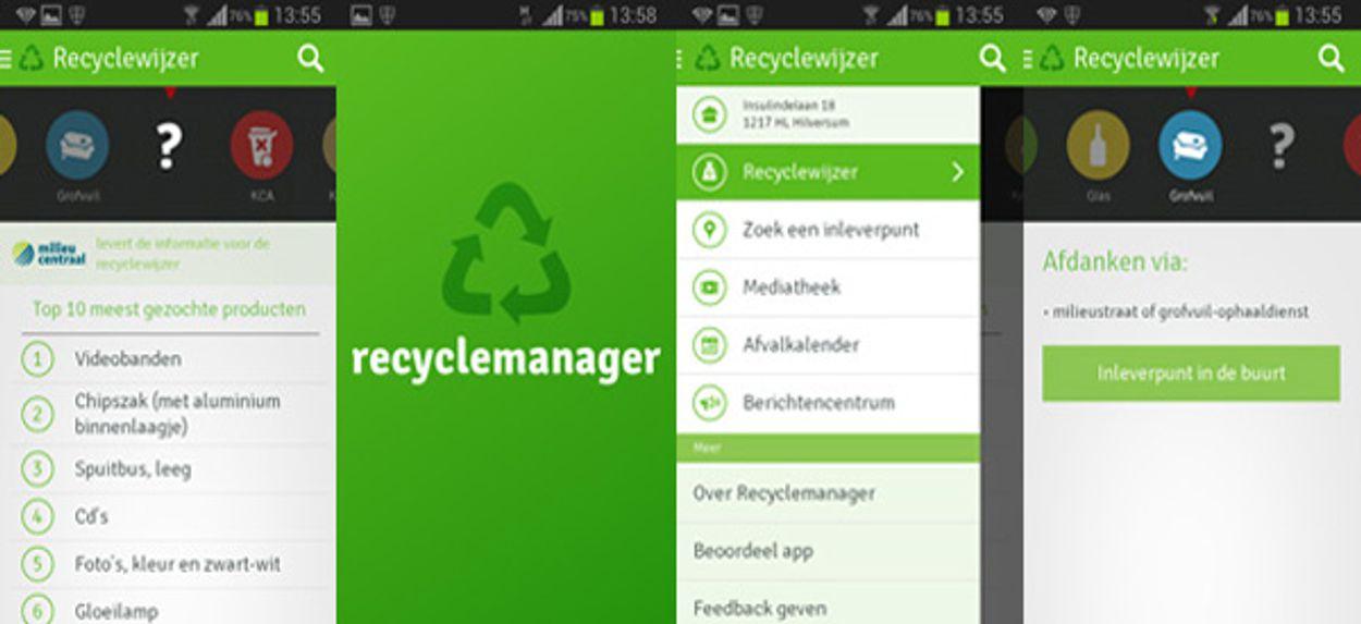 Afbeelding van Recyclemanager: handig, als jouw gemeente meedoet