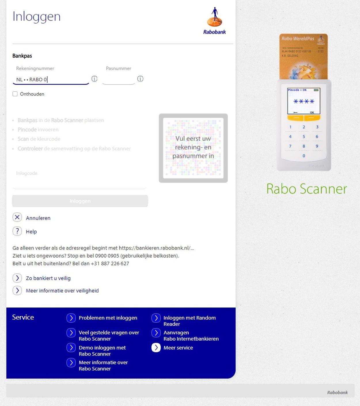 Rabobank phishing 2