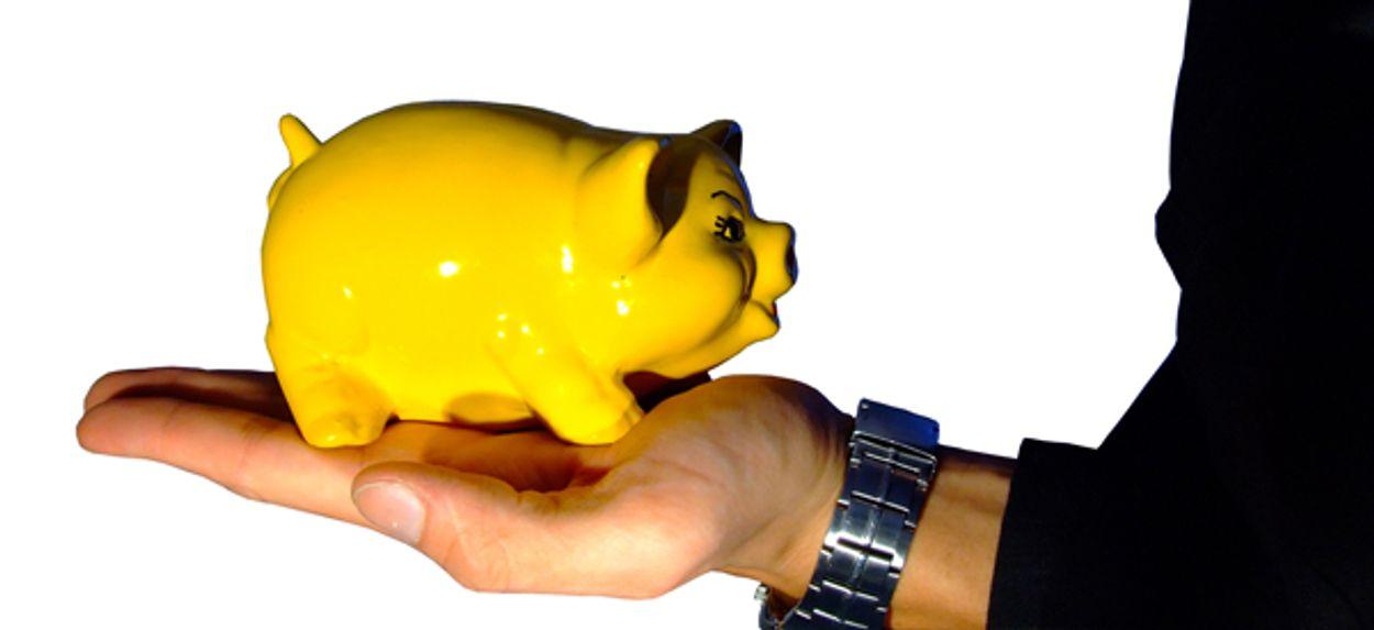 Afbeelding van Zorgverzekeraars potten geld op