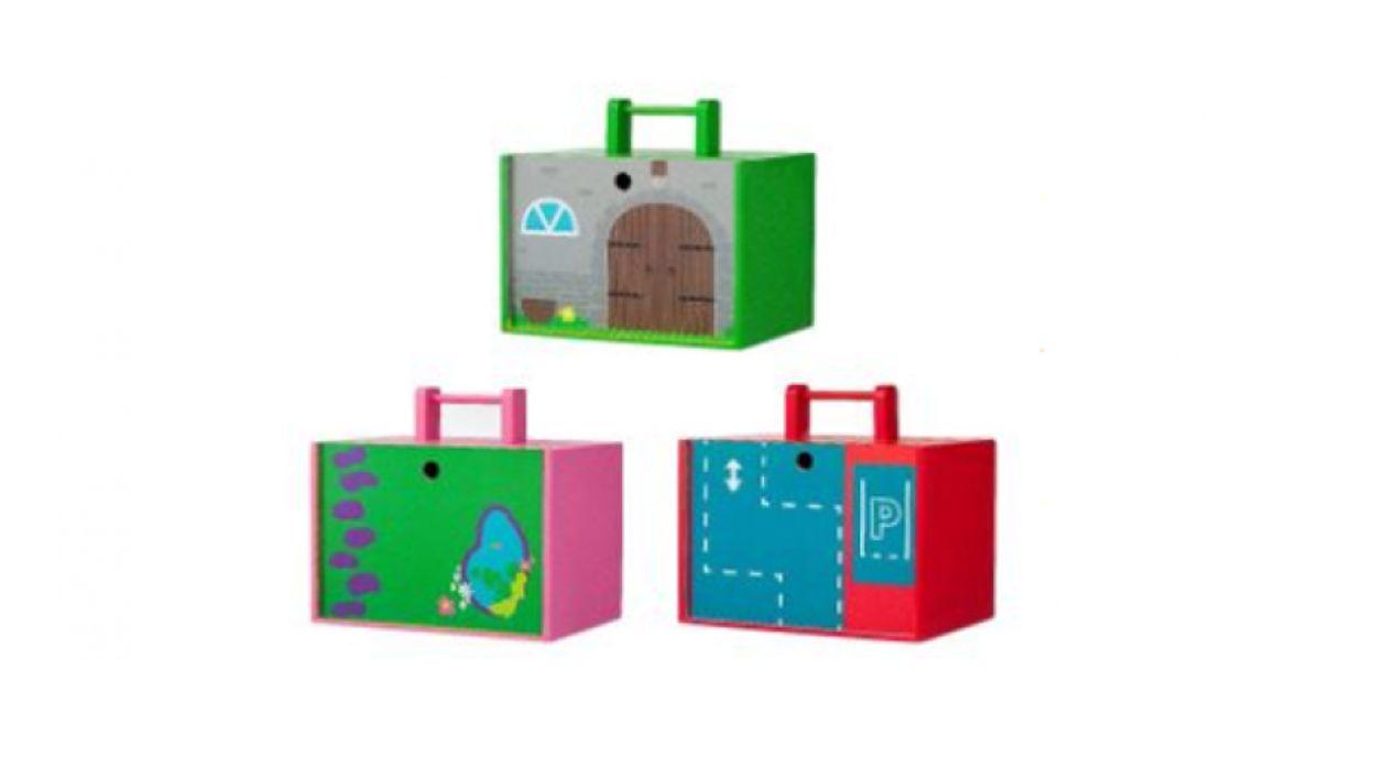 Afbeelding van HEMA haalt speelgoeddraagkistjes terug
