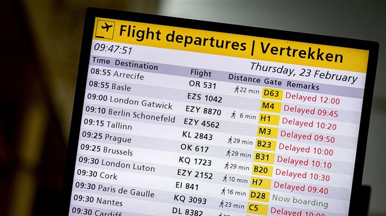 Afbeelding van Voorstel opschorten wet compensatie bij vluchtannulering niet wettig