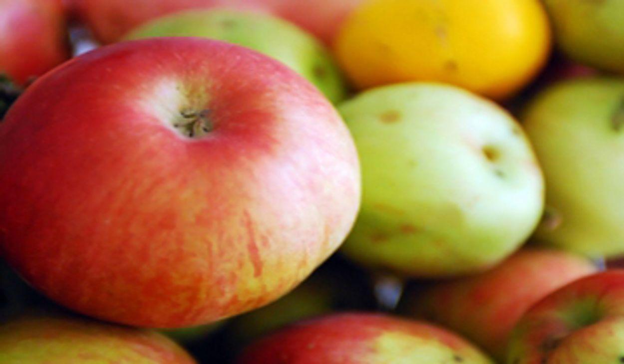 Afbeelding van Zure appel slechter voor tanden dan cola