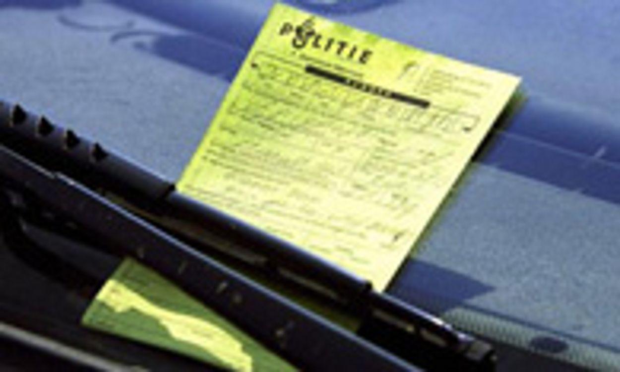 Afbeelding van Minder verkeersboetes in 2011