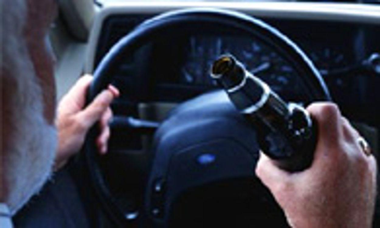 Afbeelding van Een borrel maakt automobilist al 'blind'