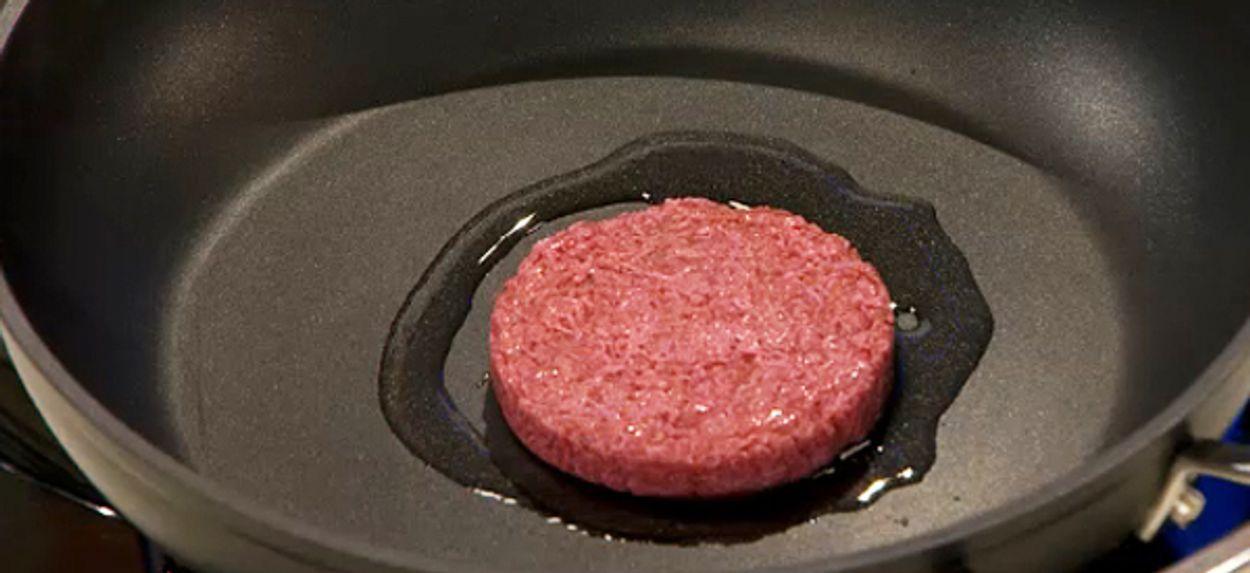 Afbeelding van Kweekburger 'smakelijk maar niet zo sappig'