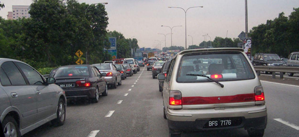 Afbeelding van Ook in april minder files op snelwegen