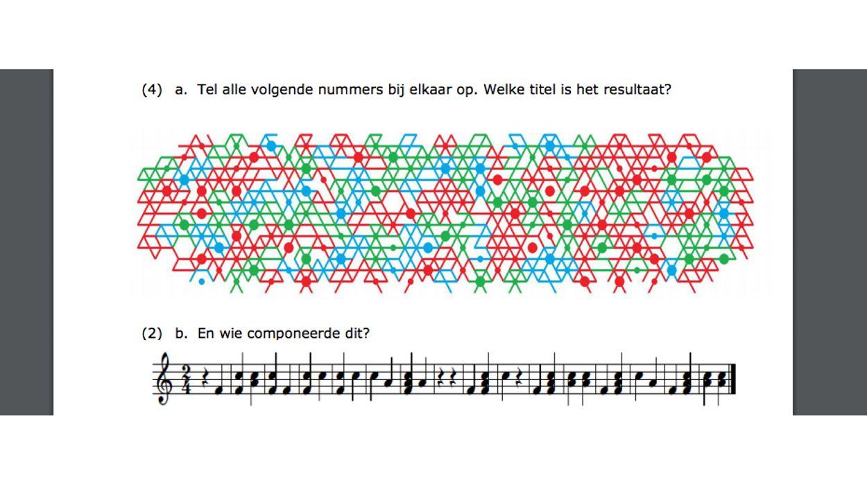 Afbeelding van AIVD publiceert 'moeilijkste' kerstpuzzel van Nederland