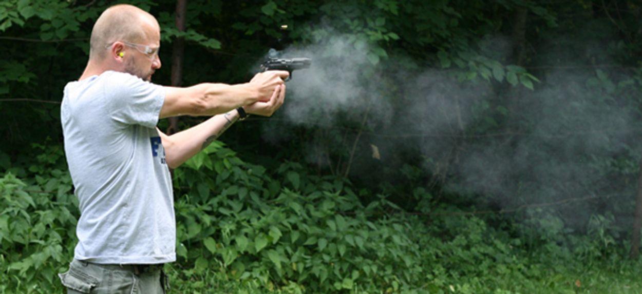 Afbeelding van Vuurwapen van 3D-printer lost schoten