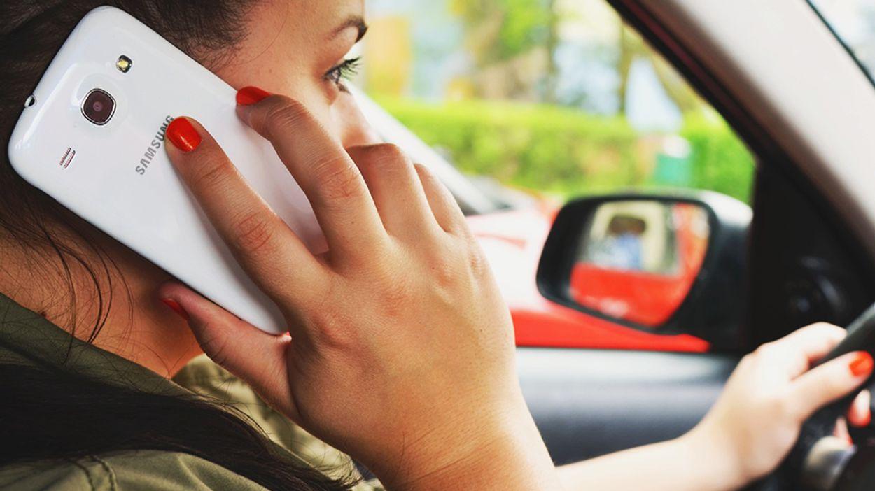 Afbeelding van De gevaren van smartphonegebruik in het verkeer