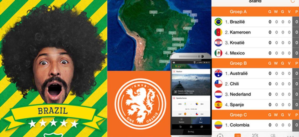 Afbeelding van Volg het WK nu ook op je telefoon!