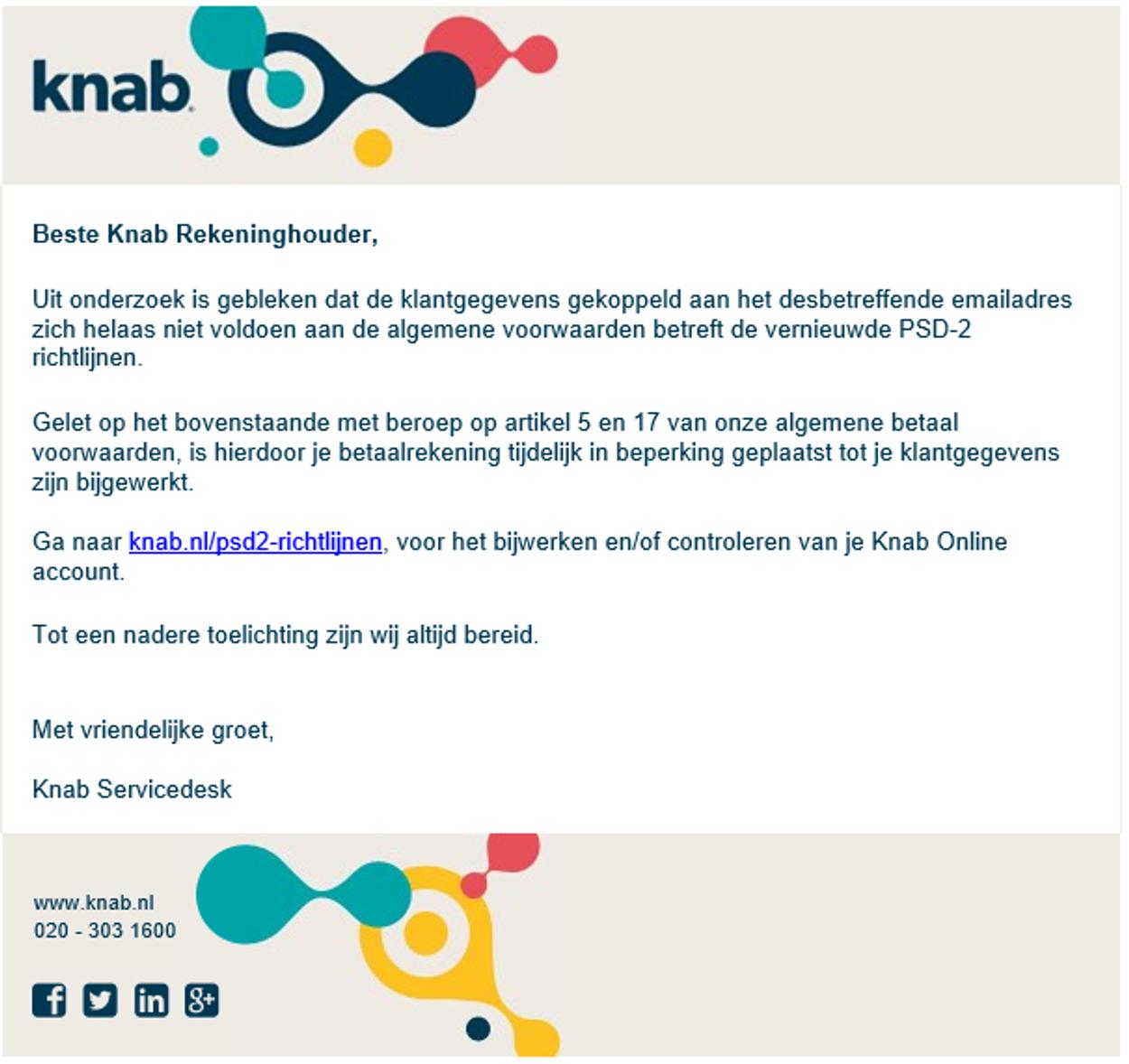 knab phishing!