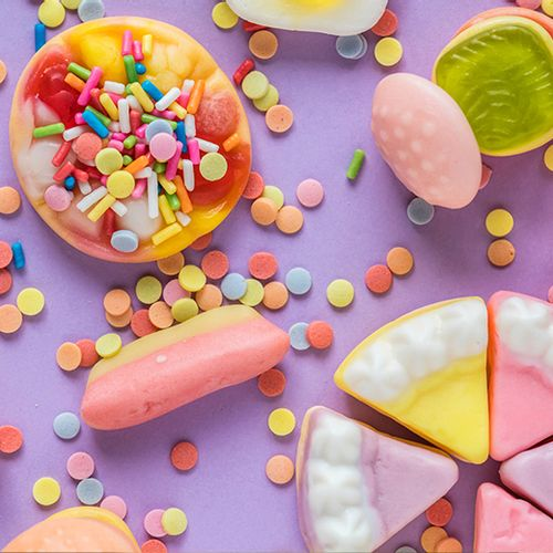 Afbeelding van Kinderen tussen 4 en 8 eten 31 kilo suiker per jaar
