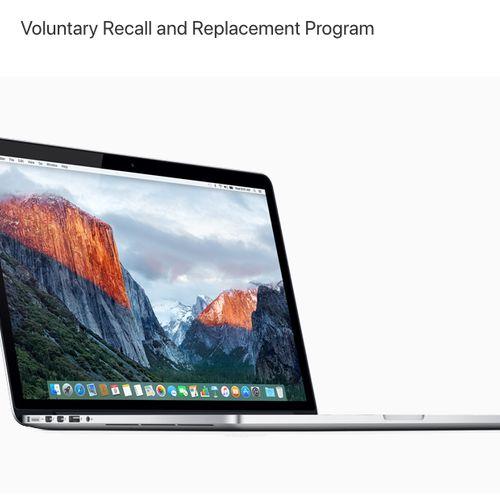 Afbeelding van Apple roept MacBooks terug vanwege oververhitting batterij