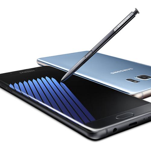 Afbeelding van 'Geen eigen accu's in Samsung Galaxy Note 7'