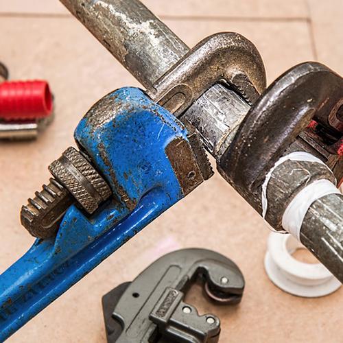 Afbeelding van Pas op voor oplichting door loodgieters