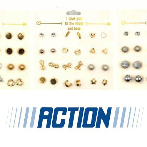 Afbeelding van Oorbellen van Action bevatten te veel nikkel