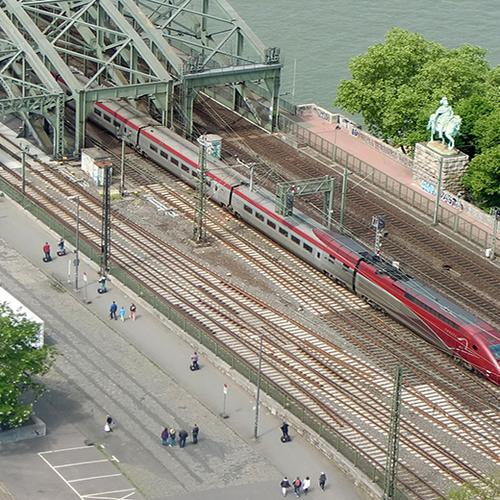 Afbeelding van KLM vervangt deel Brussel-vluchten door treinreis