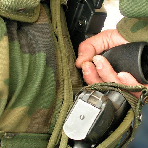 Afbeelding van Militairen gaan helpen bij controles Schiphol