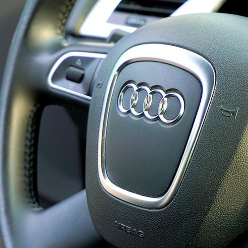 Afbeelding van Elektrische auto Audi kan in brand vliegen
