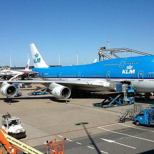 Afbeelding van KLM schikt in zaak compensatie passagiers na brandstofstoring