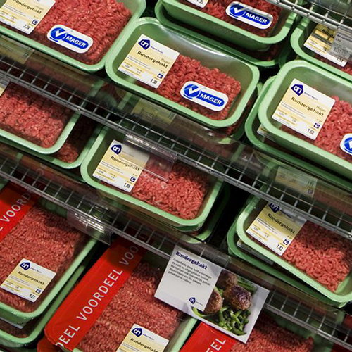 Afbeelding van Supermarkten verkopen mager gehakt met veel vet