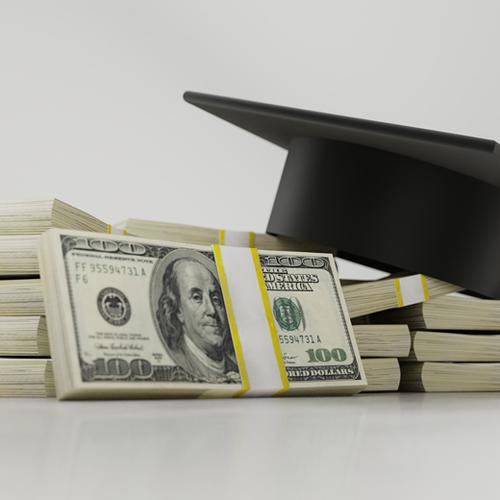 Afbeelding van 'Hoge rente studieschuld in strijd met wet'