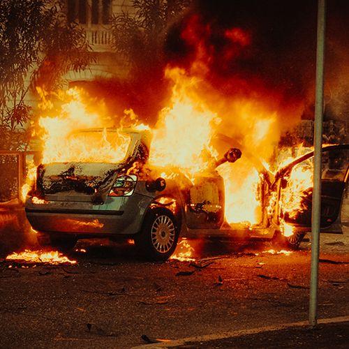 Afbeelding van Wat vergoedt je verzekering bij een autobrand?