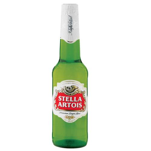 Afbeelding van Beperkt aantal groene flesjes Stella Artois 33cl teruggeroepen