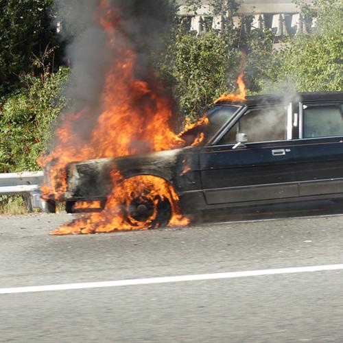 Afbeelding van Sterke stijging in aantal autobranden