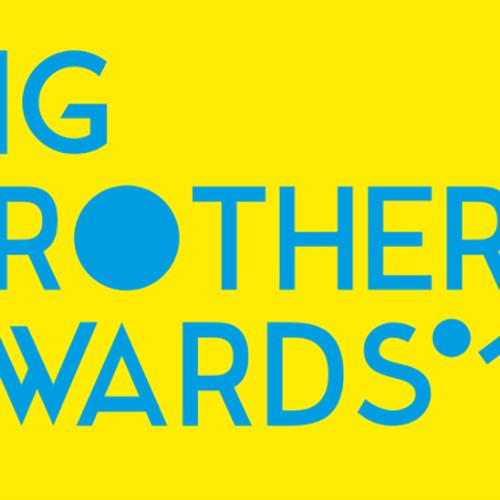 Afbeelding van Big Brother Award voor kabinet