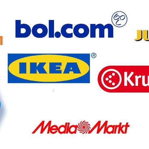 Afbeelding van Phishingmails Winkelketens