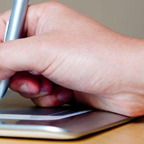 Afbeelding van Tablet verdrijft het boek uit de klas