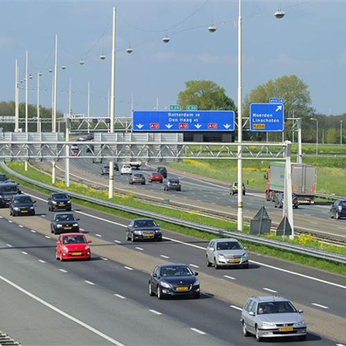 Afbeelding van A12 bij Gouda gevaarlijkste stuk snelweg van Nederland